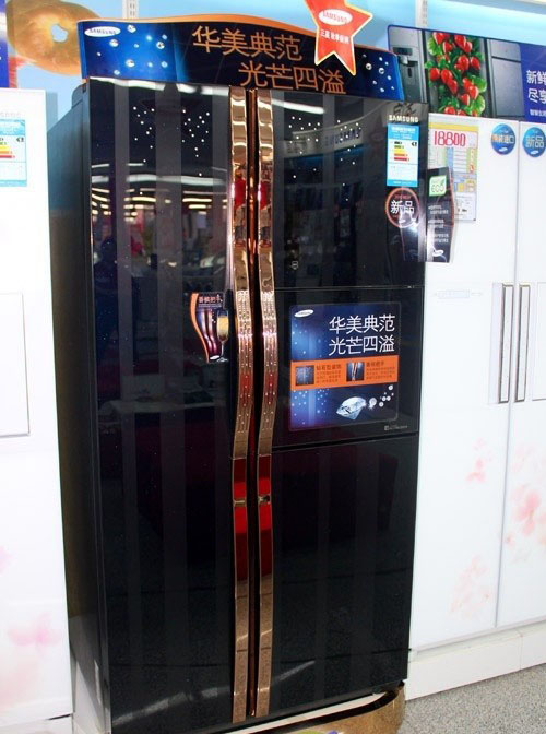 编辑点评:三星rs26mbzbl冰箱采用变频压缩机